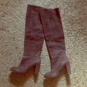 Over the knee boots by Nine West